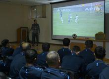 Организован семинар для судей с целью анализа матчей прошедших туров Суперлиги