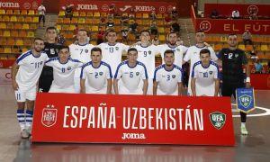 Футзал. Во втором матче Узбекистан вновь уступил Испании