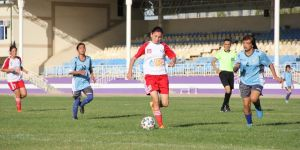 Женское молодёжное первенство U-16: остались стыковые матчи и за медали.