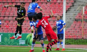 Sanjar Rikhsiboev scores in his debut for FC Khujand