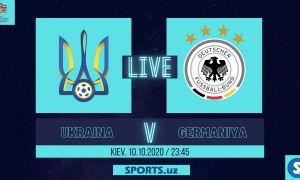 Миллатлар Лигаси. Украина - Германия: Матнли трансляция