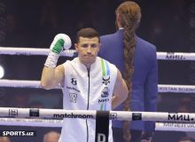 Israil Madrimov spotted Kalombo's undefeated record