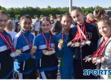 Uzbekistan's junior rhythmic gymnasts arrive in Tashkent