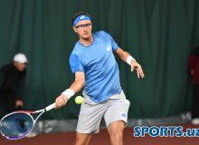 """""""Roland Garros"""". Истомин-Федерер учрашуви 3 сет давом этди"""
