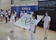 В Карши прошло мероприятие посвящённое «Международному Олимпийскому дню»