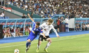 FC Nasaf play a 1-1 draw with FC Kizilkum in Karshi
