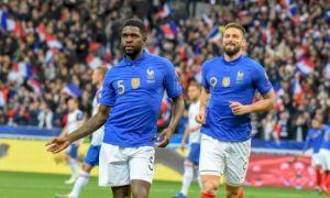 Франция - Исландия 4:0 (видео)