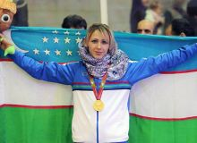 Надия Дусанова Хитой Гран-присида олтин медални қўлга киритди