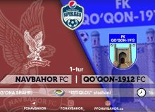 FC Navbahor have to play at the Istiklol Stadium due to construction delays in their home stadium
