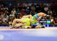 Борец Узбекистана стал серебряным призером чемпионата мира