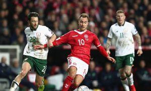 Дания - Ирландия 0:0 (видео)