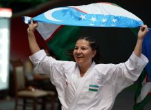 Bakhriniso Babaeva gain the first gold medal for Uzbekistan in international karate competitions