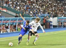 FC Nasaf play a 1-1 draw with FC Kizilkum in Karshi