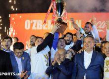 Как «Пахтакор» отпраздновал чемпионство? (Видео)