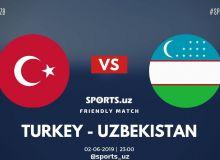 Турция - Узбекистан 2:0 (Видео)