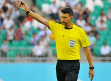 Uzbekistan's referees officiate at the 2019 AFC Champions League Final in Japan