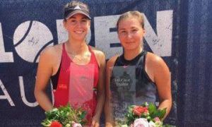 В парном разряде Хабибулина выиграла турнир в Германии