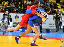 В копилке Узбекистана 27 медалей по итогам молодёжного первенства мира по самбо