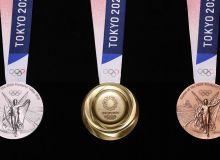 Tokio Olimpiadasining medallari namoyish etildi