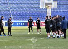 «Насаф» провел официальную тренировку перед вторым матчем ЛЧА