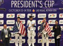 Жасурбек Жайсунов стал чемпионом турнира «President's CUP» по таэквондо