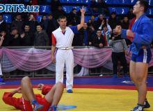 Результаты чемпионата Узбекистана по самбо