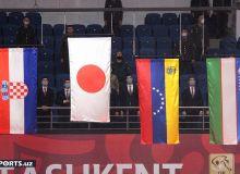 """""""Grand Slam Tashkent - 2021"""". Сўнгги кун баҳслари олдидан вакилларимиз умумжамоа ҳисобда 6-ўринда турибди (тўлиқ рўйхат)"""