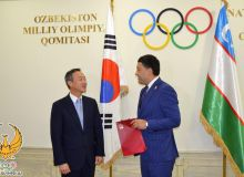 Расширяя границы сотрудничества: Умид Ахматджанов провел переговоры с послом Кореи