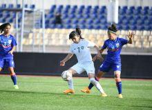 Международный товарищеский матч женской сборной Узбекистана.