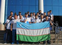 Photo Gallery. A group of Uzbekistan's athletes arrive in Tashkent after finishing Asian Games campaign