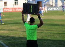 "Coca-Cola Uzbekistan Cup. Officials for ""Olympic"" – ""Pakhtakor"" match"