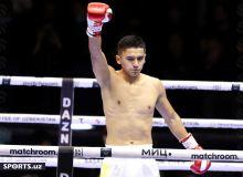 Фотообзор первой победы Икболжона Холдорова в профессиональном боксе