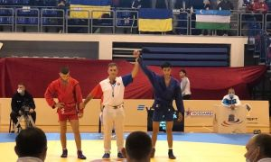 Two of Uzbeks became world champions in sambo