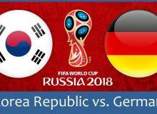 Жанубий Корея - Германия. Матнли онлайн трансляция