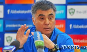 Uzbekistan's Ravshan Khaydarov nominees AFC Coach of the Year