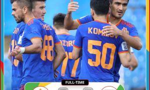 «Насаф» обыграл лучший клуб Туркменистана со счетом 2:0 (Видео)