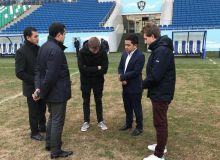 Представители ФИФА посетили стадион «Миллий»