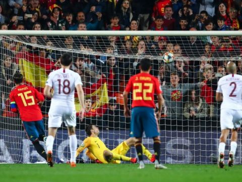 Испания - Норвегия 2:1 (видео)