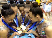 Gimnastikachilarimiz Osiyo chempionatida etakchilik qilishmoqda