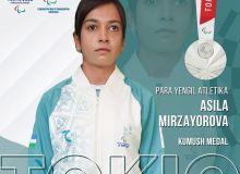 Асила Мирзаëрова стала серебряным призëром Токио-2020!