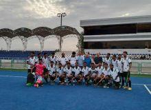 Молодые хоккеисты Узбекистана соревновались с представителями Пакистана