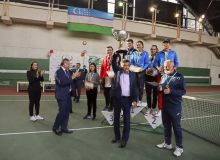 «Кубок Узбекистана» по теннису подошёл к концу