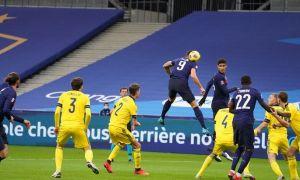 Франция 6 та гол урилган Париждани ўйинда Швеция устидан ғалаба қозонди (видео)