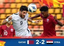 Қатар U23 - Сурия U23 учрашувида жанговор дуранг қайд этилди