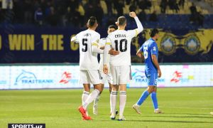 Dragan Ceran stars as Pakhtakor dominate Bukhara to register a 3-0 win