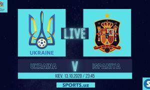 Миллатлар Лигаси. Украина - Испания: Матнли трансляция