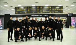 Uzbekistan's an 18-boxer squad leave for the ASBC Asian Youth Boxing Championships
