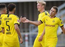 """Бундеслига. """"Боруссия"""" Дортмунд сафарда """"Падерборн"""" дарвозасига 6 та гол урди"""