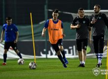 Photo Gallery. Uzbekistan national team organise an initial training sessions in UAE