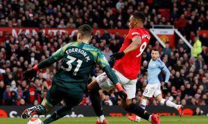 """Манчестер Юнайтед"" - ""Манчестер Сити"" 2:0 (видео)"